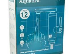 Кран-водонагреватель проточный NZ 3. 0кВт 0, 4-5бар для кухни гусак прямой на гайке с. ..