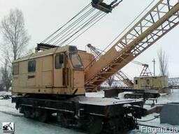 Кран железнодорожный КДЭ - 253
