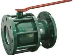 Краны шаровые фланцевые КЗШС-41нж для воды и газа