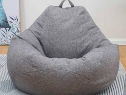 Красивое кресло мешок, бинбэг, кресло груша