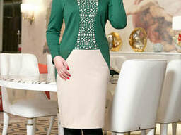 Красивое женское платье (52-58), доставка по Украине