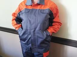 Красивый и удобный рабочий костюм с полукомбинезоном