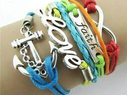 Красивые браслеты для девочек 4 цвета