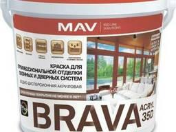 Краска BRAVA ACRYL 35D для профессиональной отделки окон. ..