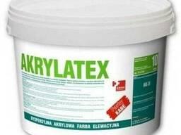 Краска для бетонных поверхностей Akrilatex 10л ( Польша)