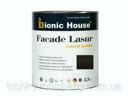 Краска для дерева Facade Lasur Bionic-House 2, 8л Черное. ..