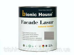 Краска для дерева Facade Lasur Bionic-House 2, 8л Пепел А117