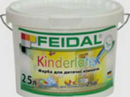 Краска для детской комнаты Kinderlatex Feidal 5л