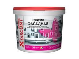 """Краска для фасадов Ореол """"Discont"""" атмосферостойкая, 3 кг"""
