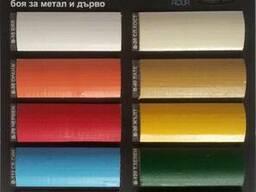 Краска для металла и дерева gbc brilians aqua - 0. 75 л
