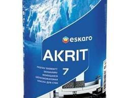 Краска для стен и потолков Akrit 7 TR 0. 9 л Eskaro