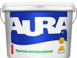 Краска для стен и потолков Aura Ekonomi