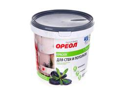 Краска для стен и потолков Ореол-Премиум белоснежная 1, 5кг