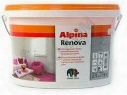 Краска для внутренних работ Alpina Renova 18л/10л/5л/2, 5л