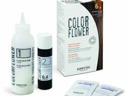 "Краска для волос ""Colorflower"" №6/4 Dark copper blond, 120мл"