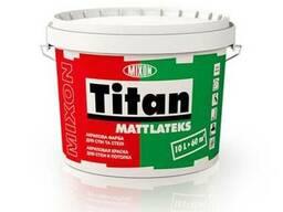 Краска дял стен и потолка Mixon Titan Mattlateks, 2. 5 л