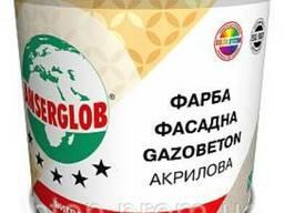 Краска фасадная акриловая газобетон Gazobeton Anserglob. ..