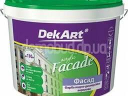 "Краска фасадная ""Facade"" ТМ DekArt, 3л"