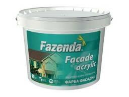 "Краска фасадная Fazenda ""Fasade acrylic"" 4 кг"