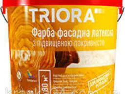 """Краска фасадная с повышенной укрывистостью """"Triora"""" 10, 0 л"""