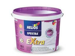 Краска интерьерная Helios Spektra Extra 2л, 5л, 10л