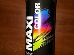 Краска Maxi Color термостойкая черная
