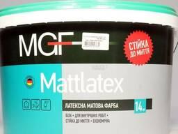 Краска MGF М100 латексная матовая 10 л
