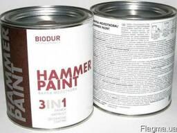 Краска с молотковым эффектом Biodur Hammer Paint 0,7л