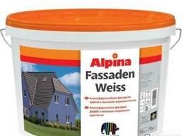 Краска в/д Alpina Fassadenfarbe 10 л