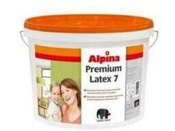 Краска в/д Alpina интерьерная 7B3 Premiumlatex 9,4 л