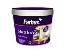 Краска водоэмульсионная латексная Mattlatex Farbex