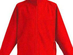 Красная детская флисовая куртка
