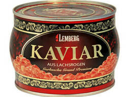 Красная лососевая икра горбуши Lemberg Grant Premium . ..