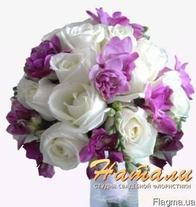 Красочные, сочные свадебные букеты