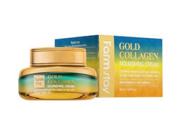 Крем для лица с золотом и коллагеном FarmStay Gold Collagen