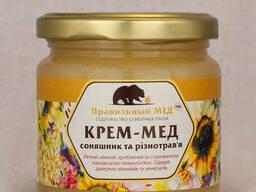 Крем-мед. Взбитый мед. Мед-суфле 200 мл.