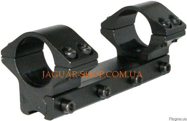 Крепление КМ-06 монолитное низкое 11 мм (4 болта) 10 см, 12