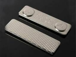 Крепление магнитное для бейджика (металлическое) магнит