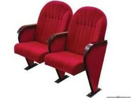 Кресла театральные, кресла для актовых залов и кинотеатров.