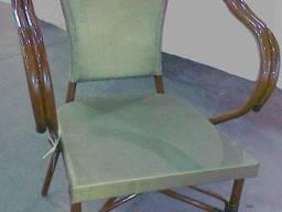 Кресло алюминий/ротанг
