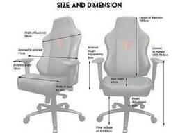 Кресло для игроков геймерское игровое | игровой стул для геймеров | офисное кресло. ..