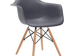 Кресло для кафе, дома Тауэр Вуд, серый