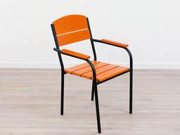 """Кресло для кафе Микс-Лайн """"Фелиция"""" Прозрачный лак"""