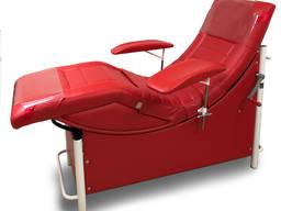 Кресло донора КД-5 для кабинета переливания, взятия крови