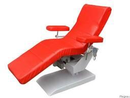 Кресло донора ВР-1Э с электрическим приводом д/ забора крови