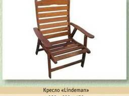 Кресло из мербау «Lindeman»