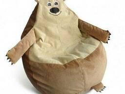 """Кресло мешок детский мишка """"гризли """""""