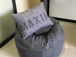 Кресло-мешок с именной подушкой от Domovitto