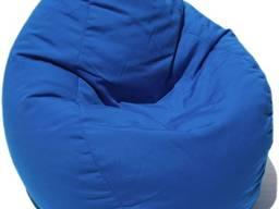 Кресло мешок синего цвета