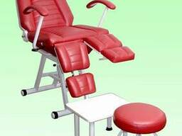 Кресло педикюрное КП-3, косметологическое
